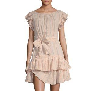 NWOT Rebecca Taylor dress size 2 color is ballet
